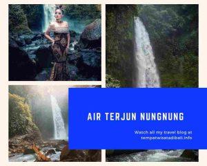 Gambar Foto Nungnung Waterfall Bali