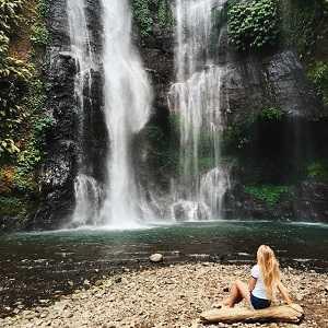 Air Terjun Sekumpul Singaraja di Kecamatan Sawan, Kabupaten Buleleng Bali