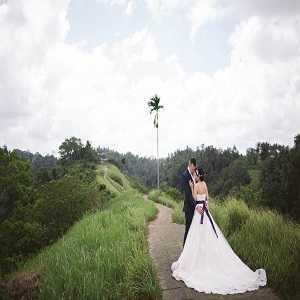 Foto Prewedding di Bukit Campuhan Ubud Bali