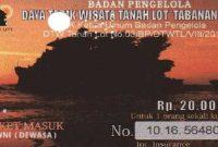 Harga Tiket Masuk Tanah Lot Bali Resmi Terbaru
