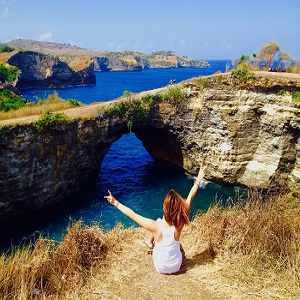 Pasih Uug Broken Beach Nusa Penida Island Bali