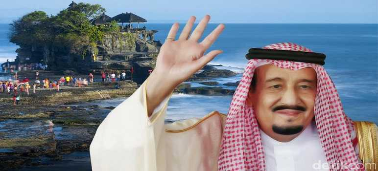 Raja Salman Liburan di Nusa Dua Bali