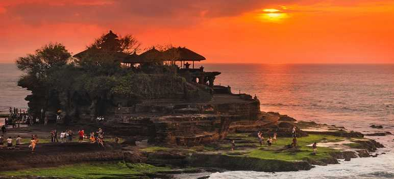 Eksotisme Sunset Tanah Lot Bali Plus Gambar Video