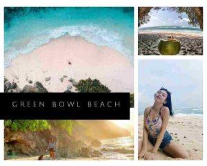 gambar foto green bowl beach Ungasan kuta instagram