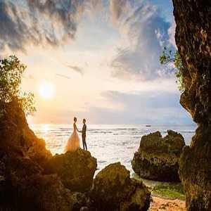 Foto Prewedding di Pantai Tegal Wangi Jimbaran Bali