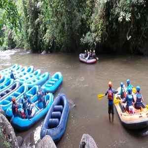 Rafting di Sungai Ayung Gianyar Bali
