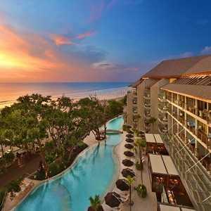 Hotel Dekat DMZ Doube-six Luxury Hotel Seminyak Bali