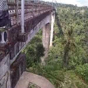 Tempat Wisata di Kabupaten Badung Bali Jembatan Tukad Bangkung