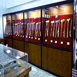Koleksi Keris di Museum Neka Ubud Gianyar Bali