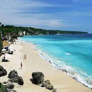 Pantai Pasir Putih Pantai Dreamland Pecatu Bali