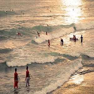 Tempat Wisata Pantai Echo di Seminyak Bali
