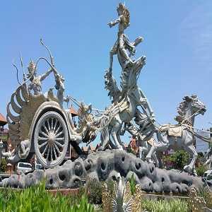 Patung Satria Gatot Kaca di Bali