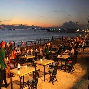 Sunset Pantai Jimbaran Bali