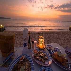Seafood Cafe Pantai Jimbaran Bali