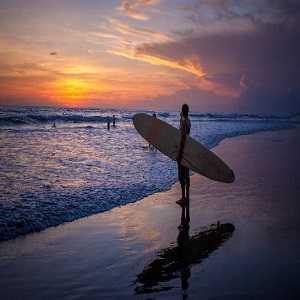 Tempat Wisata Pantai Berawa di Seminyak Bali