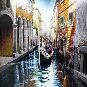 Wahana Venice Museum 3 Dimensi DMZ Bali