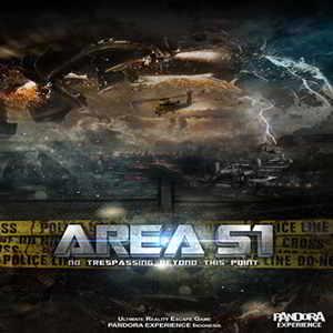 Pandora Experience Bali Escape Room Area 51
