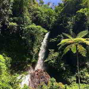 Air Terjun Telaga Warna Karngasem Bali