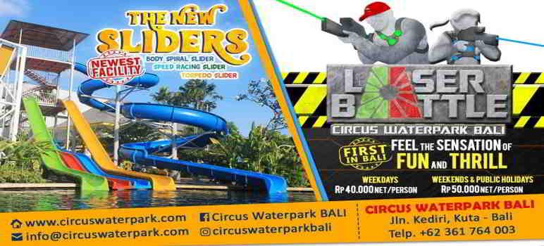 Wahana Circus Waterpark Kuta Bali