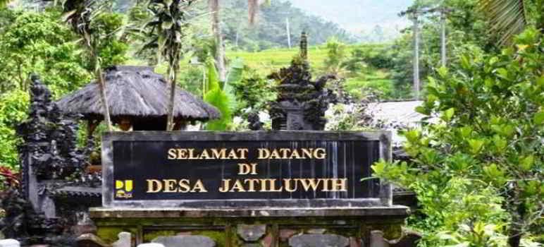 Objek Wisata Jatiluwih Bali