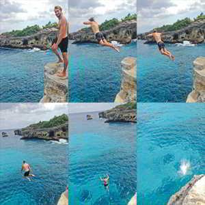 Tempat Cliff Jumping di Bali
