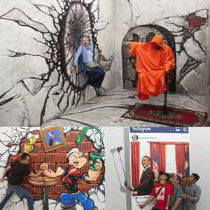 Special Effect Room IAM BALI 3D interactive Art Museum