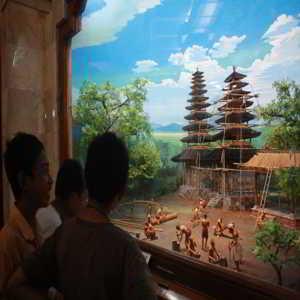 Diorama Monumen Bajra Sandhi Renon Denpasar Bali