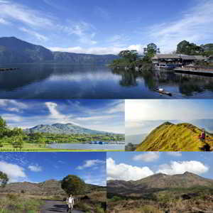 Aktifitas Wisata di Danau dan Gunung Batur Kintamani Bali