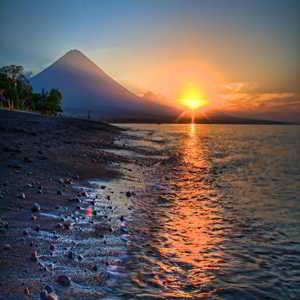 Sunset Pantai Amed Karangasem Bali