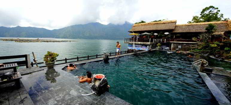 Toya Bungkah Hot Spring Kintamani Bali