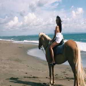 Wisata Berkuda Pantai Canggu Bali