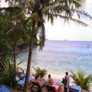 Pantai Blue Lagoon Padang Bai Manggis Karangasem Bali