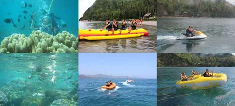 Watersport dan Underwater Pantai Labuhan Amuk Bay Karangasem Bali