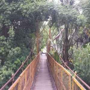 Jembatan Kuning Yeh Unda Karangasem Bali