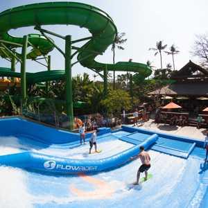 Wahana Atraksi Flow Riders Waterbom Bali
