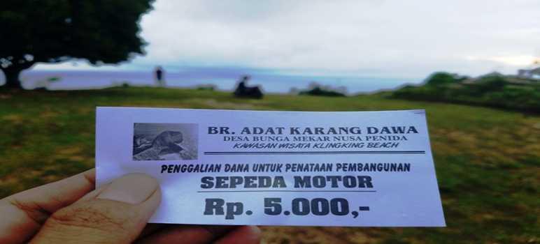 Tiket Masuk Pantai Kelingking Secret Point Nusa Penida Bali