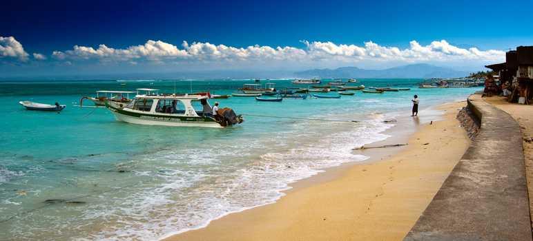 Pantai Jungut Batu Nusa Lembongan Bali
