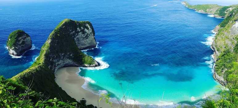 Kelingking Secret Point Beach Nusa Penida Bali