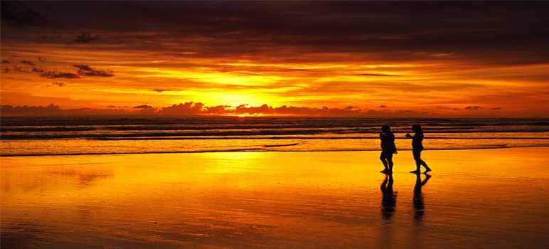 Sunset Beach Nusa Lembongan Bali