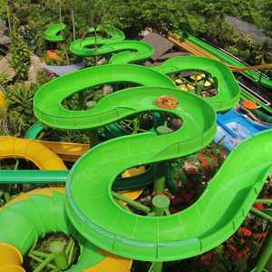 Wahana Constriktor Moderate Waterbom Bali