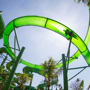 Wahana Double Twist Extreme Rides Waterbom Bali