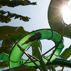 Wahana Green Vipers Extreme Rides Waterbom Bali
