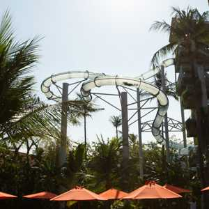 Wahana Pipeline Extreme Rides Waterbom Bali