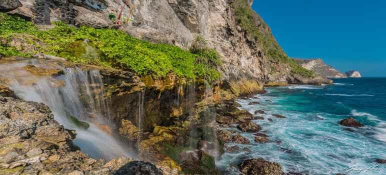 Peguyangan Waterfall Nusa Penida Bali