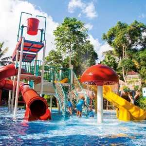 Waterpark Miniapolis Jungle Waterplay Bali Zoo Park Gianyar