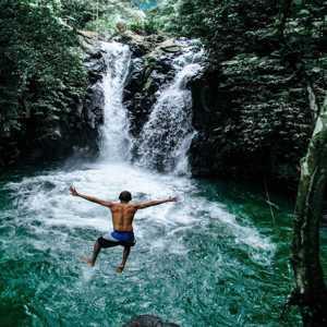 Kroya Waterfall Sambangan Bali