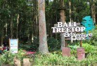 Bali Treetop Adventure Park di Bedugul Tabanan