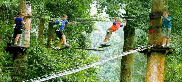 Bali Treetop Adventure Park Review 72 Wahana Harga Tiket