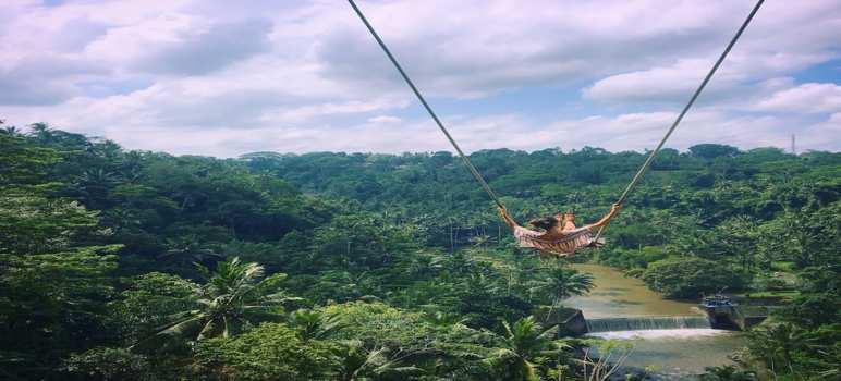 Swing At Zen Hideaway Ubud Bali