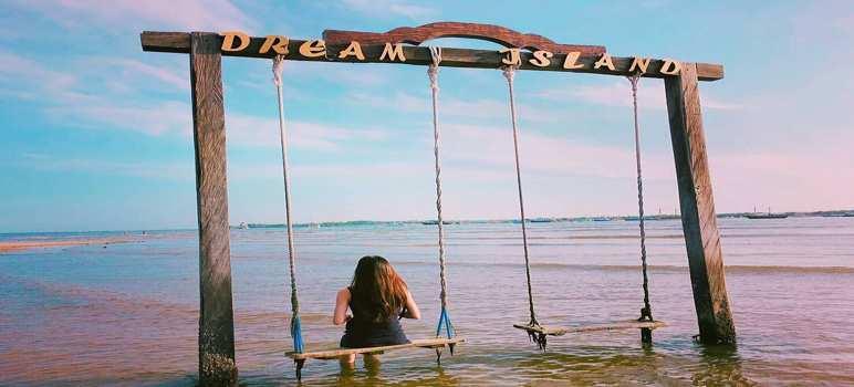 Pantai Mertasari Sanur Dream Island Denpasar Bali